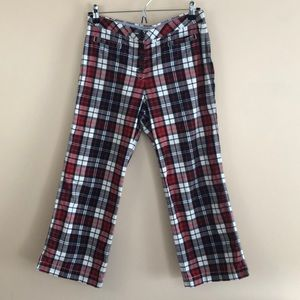 Tommy Hilfiger Checkered Crop Pants